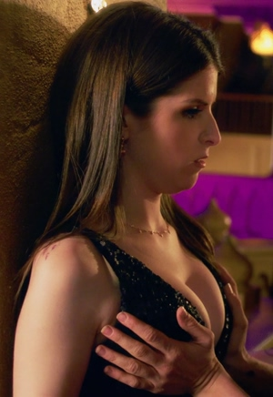 Anna Kendrick loves having her big boobs played with