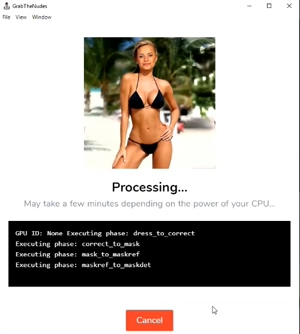 Undress anyone in seconds with this app from GrabTheNudes