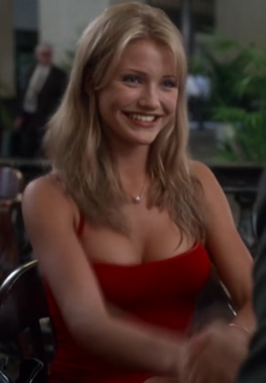 Prime Cameron Diaz bouncing in 'The Mask'