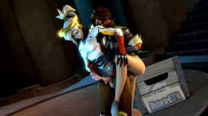 Mercy getting fucked by tracer