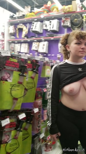 The employee earlier totally saw my boobs