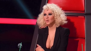 Christina Aguilera brought as much plot as she could for