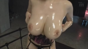 Oiled Asian Boobs