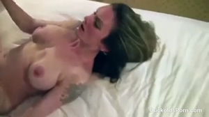 Hotwife Double Team for her Birthday 2