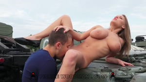 Viola Bailey Anal On A Tank