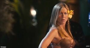 Jennifer Aniston hula plots in Just Go with IT