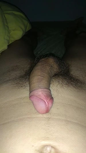 Watch my cock getting bigger for you.