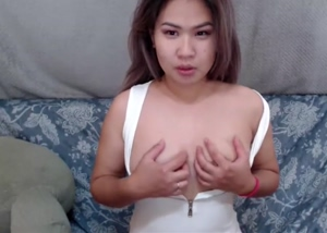 Revealing soft asian tits