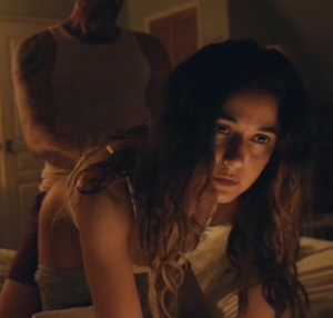 Emmanuelle Chriqui in Hospitality I felt bad for her but fuck she looks hot taking it from behind