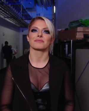 Alexa's juicy fake tits