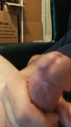 5 Big Squirts of CUM!