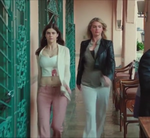 Alexandra Daddario and Kate Upton love their tits