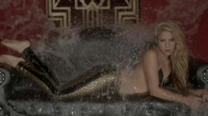 I'd love to see Shakira get showered just like this with the jizz of all her male fans.
