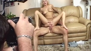 Blonde whore with big tits presents her goods and gets fucked for stills pt 2