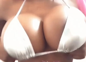 Boobs in your face