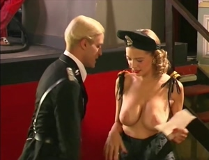 Flashing Her Tits In Front Of Everyone