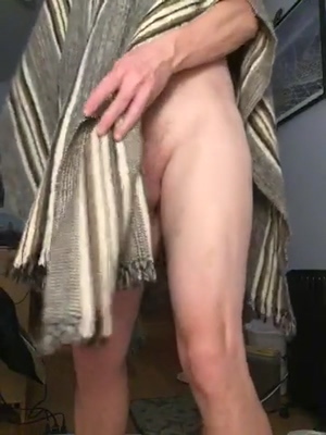 A penis in a poncho