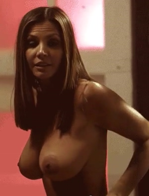 Charisma Carpenter's Luscious Breasts