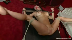 Veronica squirting from rough anal sex