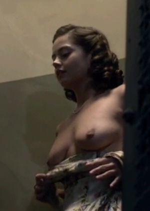 Jenna Coleman showing her boobs