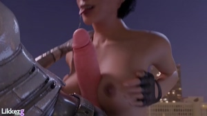 Alyx titty-fuck,