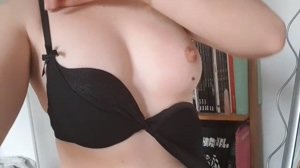 Taking my tits out