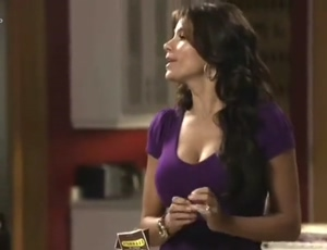 Sofia Vergara - walking into your buddy's house and seeing his mom in the kitchen...