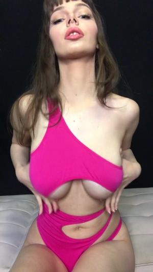 Big natural titties are the best for bouncing