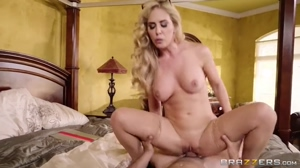 Busty Hot Milf Fucks Some Young Cock