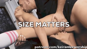 Sorry babe... size matters