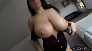 Ewa Sonnet's big beautiful boobs