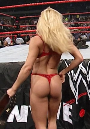 Trish Stratus, hungry butt champ