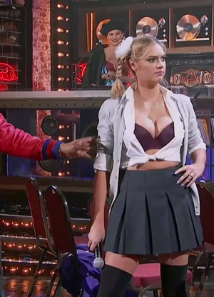 Kate Upton -- Lip Sync Battle