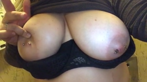 Who wants to cum on my tits?