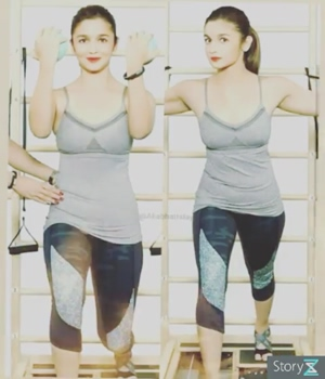 Fitness Of Aliabhatt