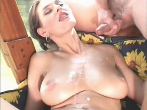 Anita Queen cum covered in Natural Wonders of the World 28
