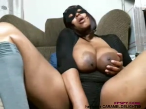 Old Black Lady Play Her Big Size Boobs And Pussy GIF by Pornwtube