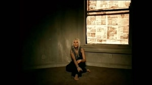Christina Aguilera in the 'Beautiful' video