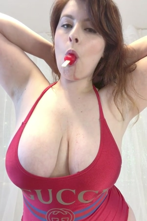It's getting too hot, so here are some big boobs