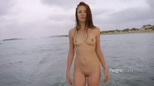 Beach Underwater Young Girl Nude 4K Porn UltraHD 2160P