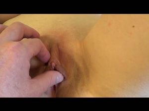 Exploring My Wife's Pussy.