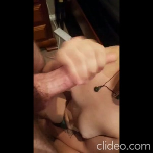 Sucking him dry in Final pic in comments