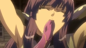 Shion Ep 02, Tentacle Cum Inflation