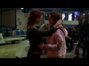 Christina Hendricks and Frankie Ingrassia in Without a Trace