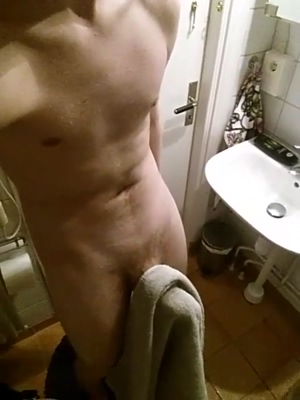 Showing of my penis