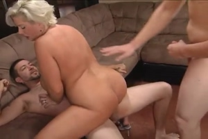Big boobs wife threesome