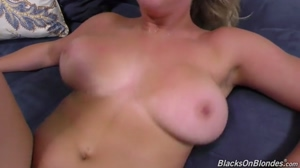 bbc makes those big tits bounce