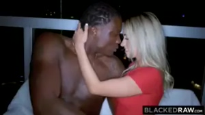 Hot Blonde Takes her First BBC Really Hard