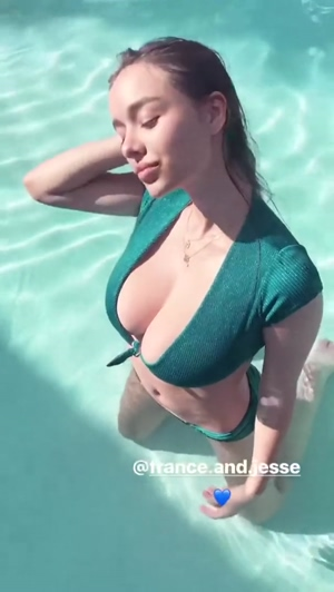 How vigorously would you fuck Sophie Mudd's throat and giant tits?