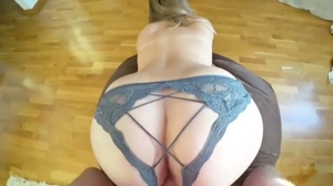 Homemade Porn - Amazing Big ASS Blonde Babe Perfect Doggystyle
